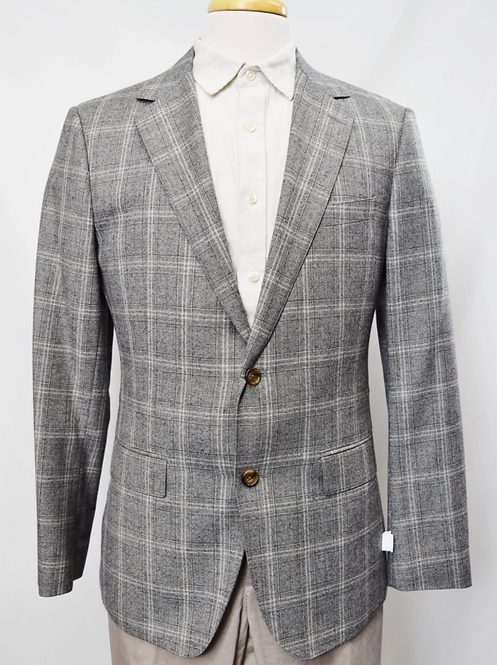 Bonobos Gray Plaid Blazer Size 40R