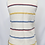Thumbnail: Tory Burch Cream Stripe Embroidered Blouse Size XS