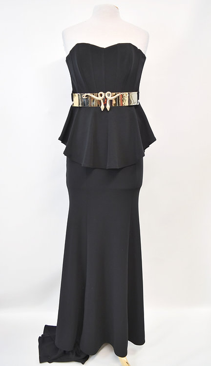 Philipp Plein Black Evening Gown Size XS (2)