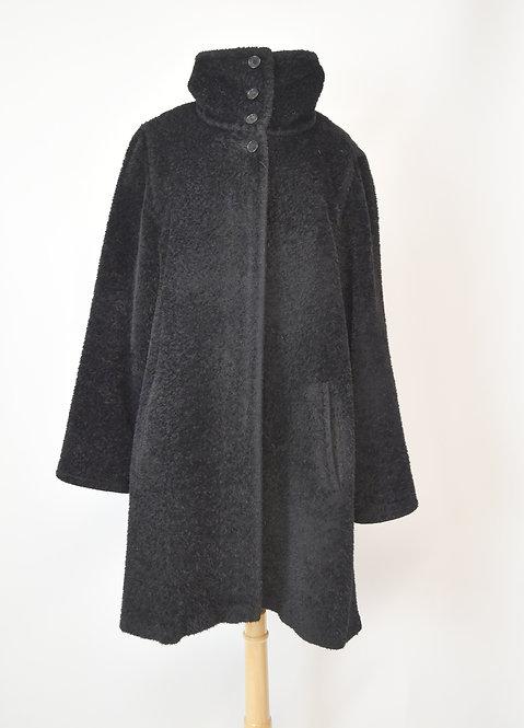 MaxMara Black Wool Coat Size Medium (10)