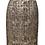Thumbnail: Alice + Olivia Brown & Gold Tweed Skirt Size 4