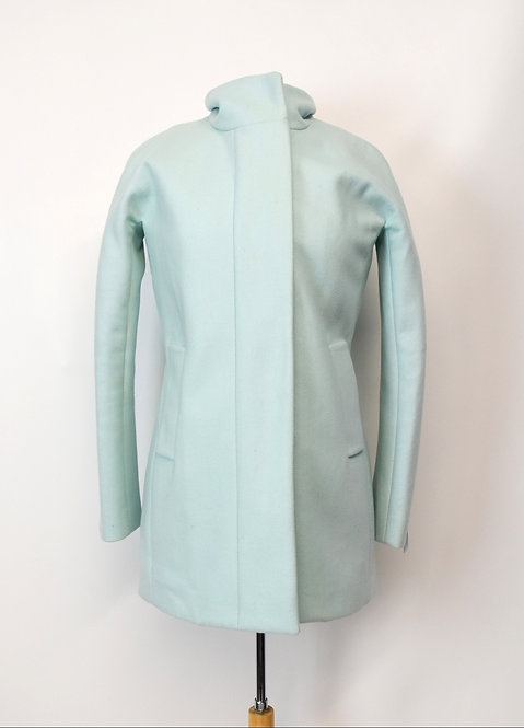 J. Crew Mint Wool Peacoat Size XS (2)