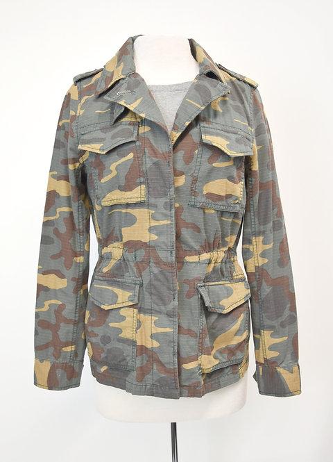 Madewell Green Camo Jacket Size Medium