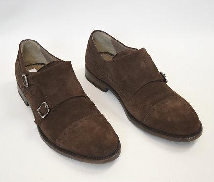 Aquatalia Brown Suede Dress Shoes Size 10