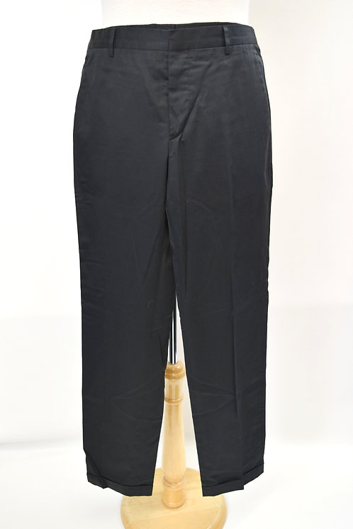 Prada Black Straight Leg Pants Size 34