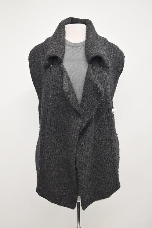 Soyer Gray Knit Vest Size Small