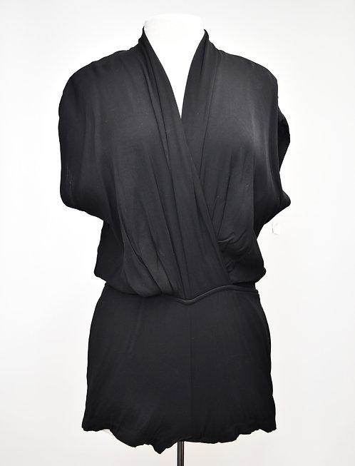 L'Agence Black Short Romper Size 6