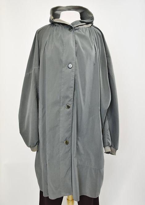 RamoSport Gray Button Down Jacket Size Large