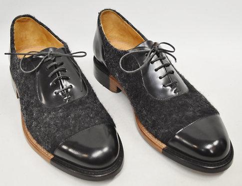 Mister Scott Black Dress Shoes Size 8