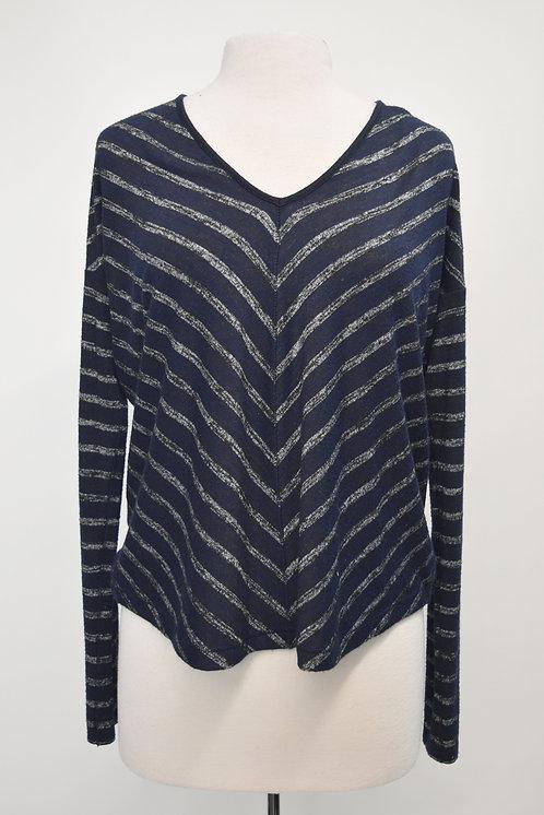 Rag & Bone Navy Stripe Sweater Size Small