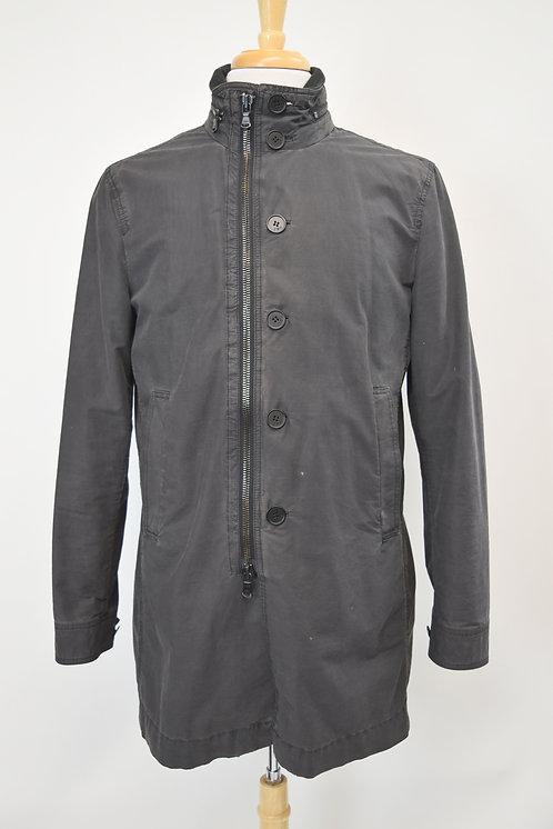 John Varvatos Long Gray Jacket Size Small