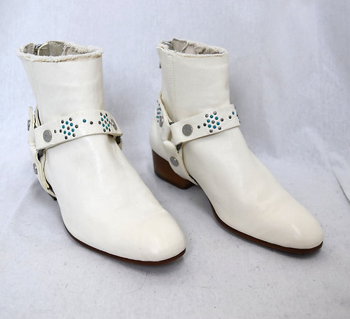 Zadig & Voltaire Ivory Boots Size 6