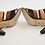 Thumbnail: Donald J Pliner Brown & Tan Leather Heels Size 9