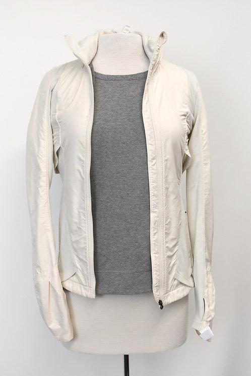 Lululemon White Zip-Up Jacket Size XS/Small