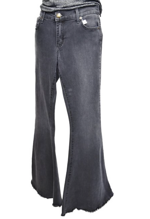Free People Black Flare Jeans Size 30