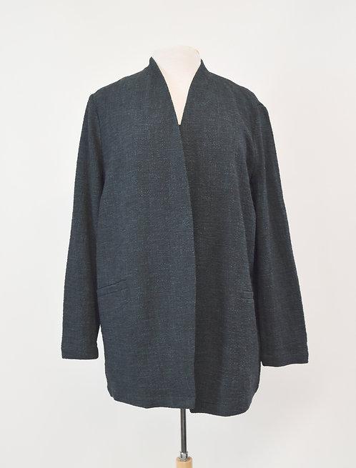 Eileen Fisher Dark Blue Jacket Size Medium