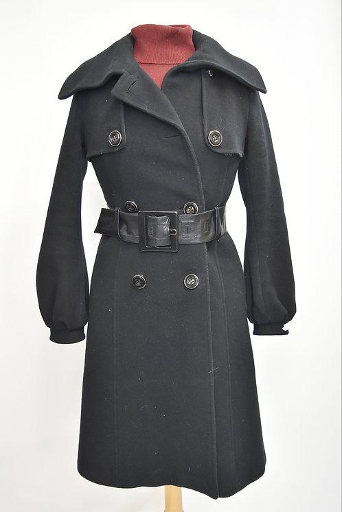 Mackage Black Wool Peacoat Size Small