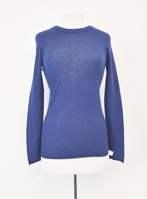 Scoop Blue Cashmere Sweater Size Medium