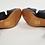 Thumbnail: Samantha Pleet Leather Strappy Heels Size 8
