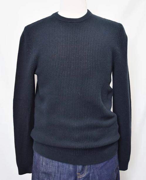 Reiss Black Knit Sweater Size Medium