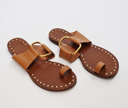Tory Burch Tan Leather Sandals Size 6