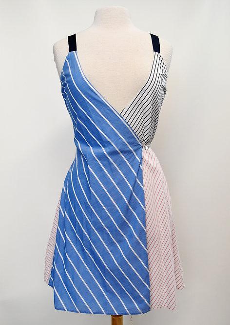 Joie Multi Stripe Wrap Dress Size XS