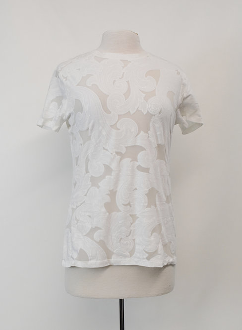 Versace Collection White T-Shirt Size Large