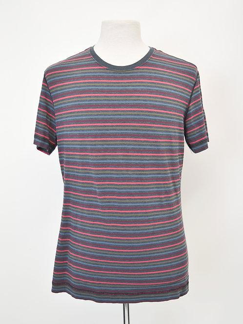 Lululemon Multi-Colored Stripe T-Shirt Size Large