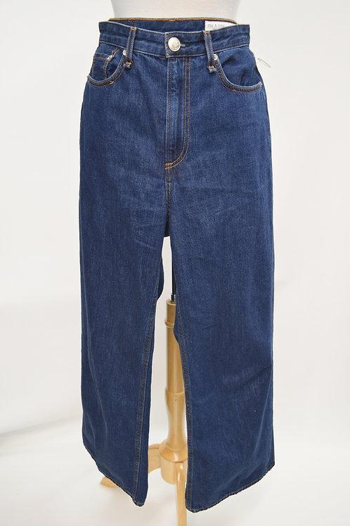 Rag & Bone High-Rise Wide Leg Jeans Size 27
