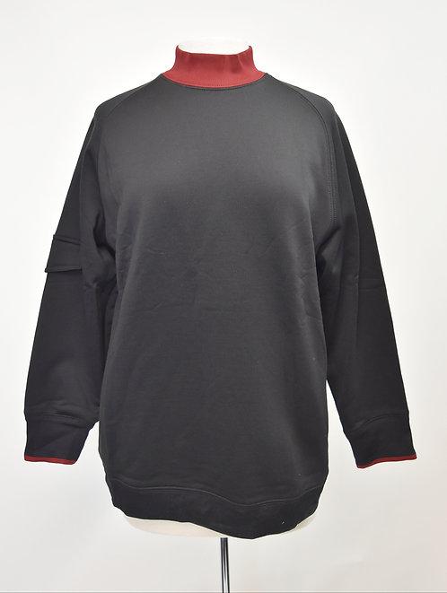 Helmut Lang Black & Red Sweatshirt Size Large