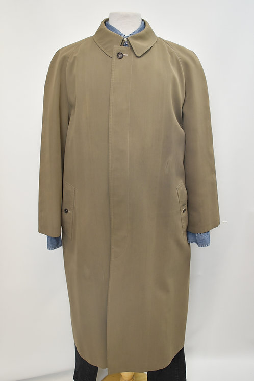 Burberry Tan Overcoat Size Large (46)