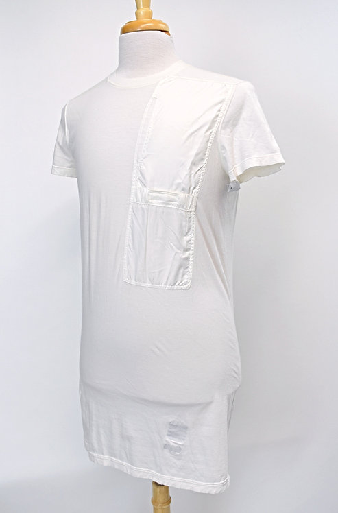 Rick Owens DRKSHDW White T-Shirt Size Small