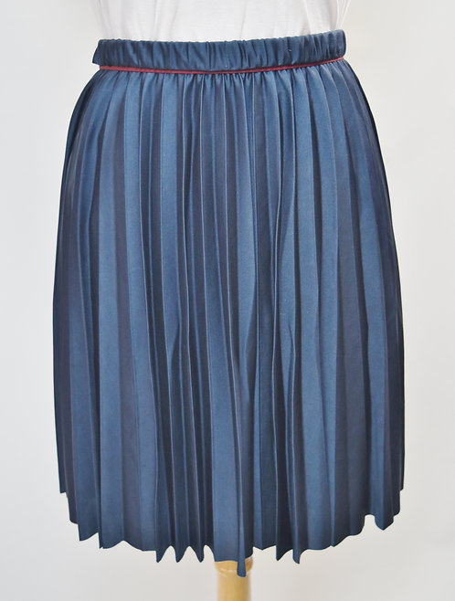 Marc Jacobs Navy Pleated Skirt Size 4