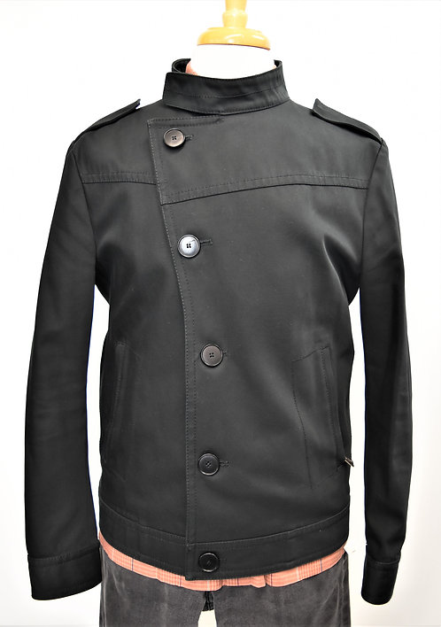 Drykorn Black Button Down Jacket Size Large