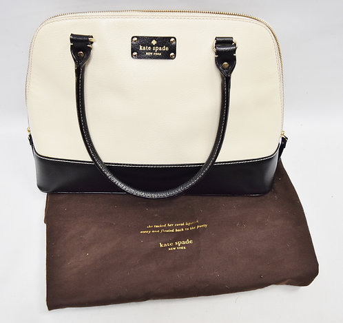 Kate Spade Black & White Shoulder Bag