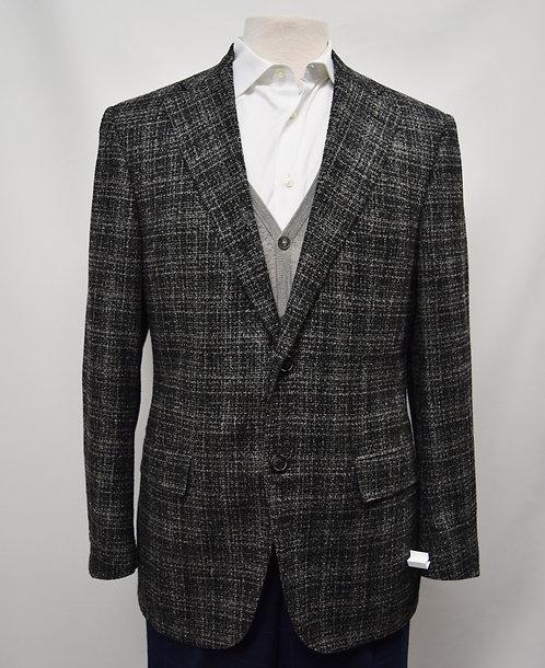 Corneliani Gray Plaid Blazer Size 40R