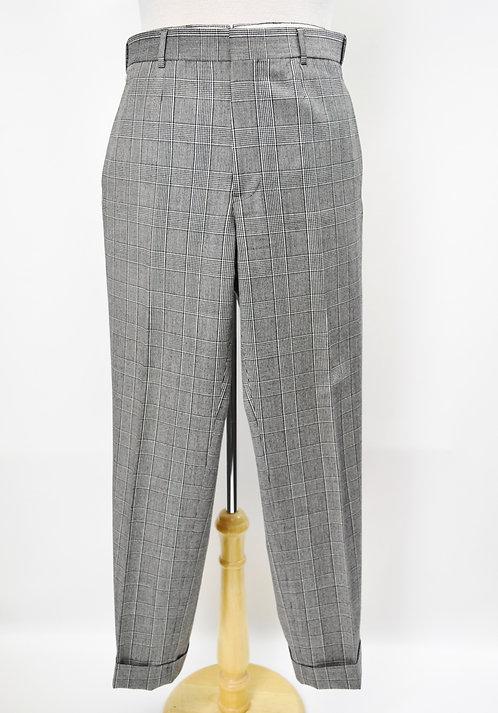 Brooks Brothers Black Fleece Plaid Pants Size 32