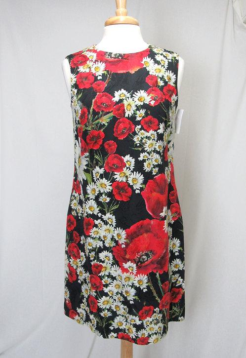 Dolce & Gabbana Floral Print Dress Size Medium (8)