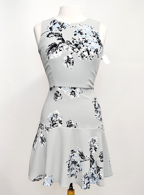 Armani Exchange Gray Floral Dress Size 2