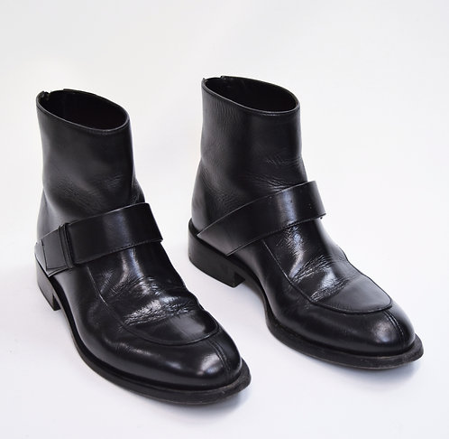 Marni Black Leather Boots Size 6