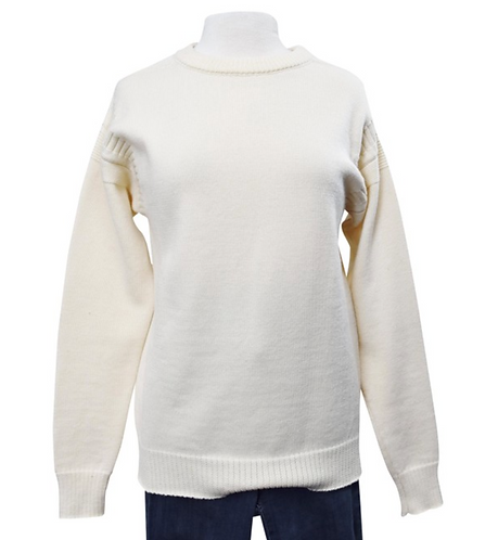 Lemaire Ivory Wool Knit Sweater Size Medium