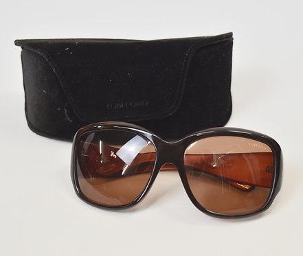 Tom Ford Serena Brown Sunglasses