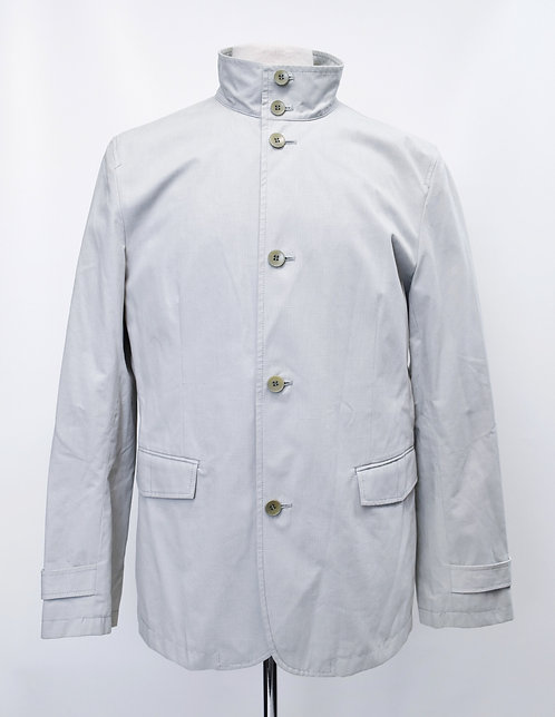 Theory Light Gray Jacket Size Large