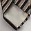 Thumbnail: Christian Dior Navy & Beige Stripe Tie
