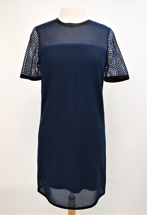 Rag & Bone Navy Mesh Dress Size Small