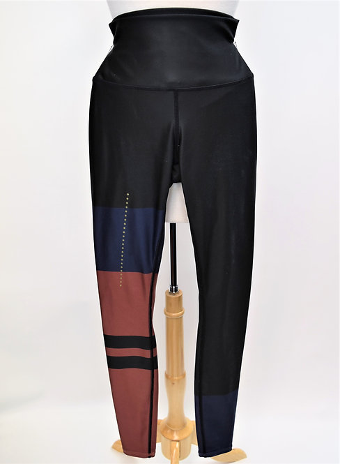 Alo Yoga Black Stripe Leggings Size Small