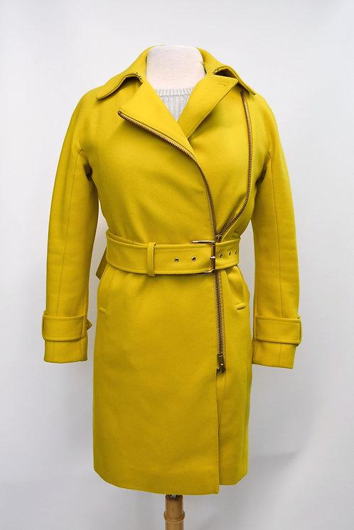 J. Crew Yellow Wool Coat Size XS (00)