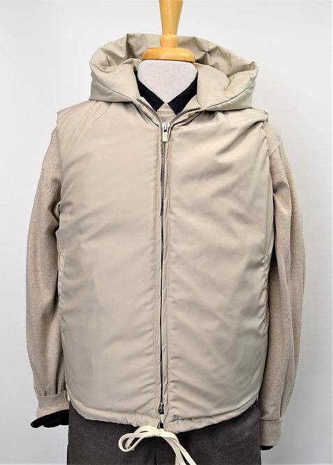 Fear Of God Beige Puffer Vest Size S/M