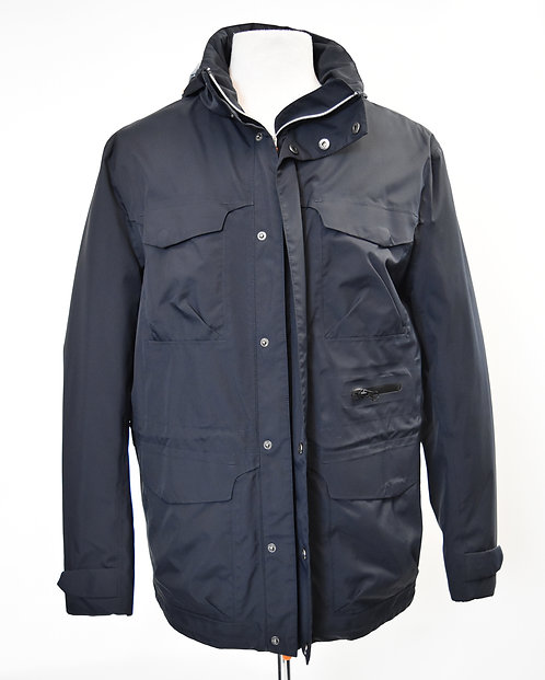 Save The Duck Navy Rain Coat Size Large