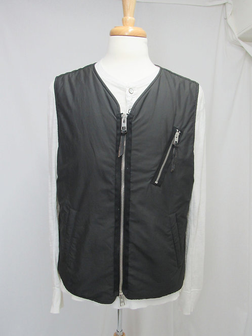 AllSaints Dark Green Vest Size XL